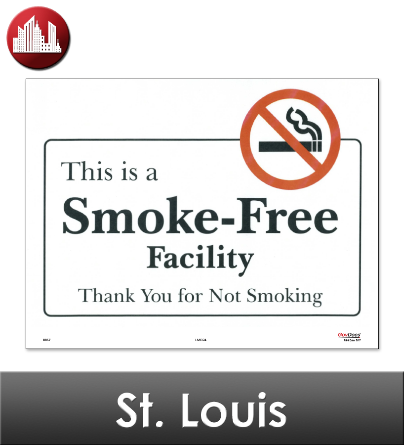 St. Louis, MO Laminated Workplace Poster Package