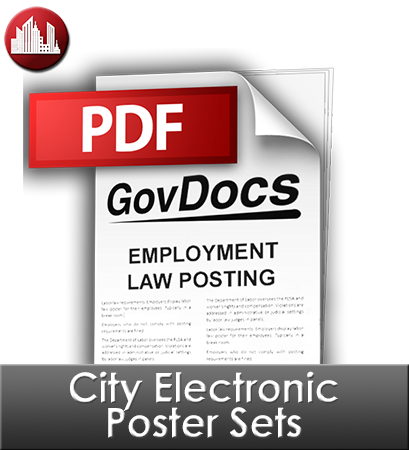 City Electronic Poster Sets