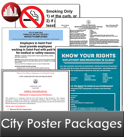 City Poster Packages