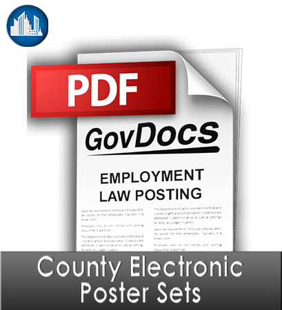 County Electronic Poster Sets