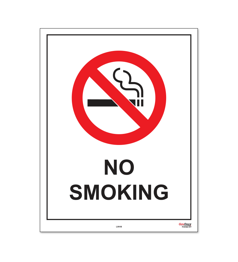 Virginia No-Smoking Poster