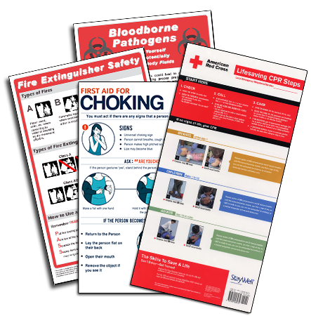 Workplace Safety Poster Package