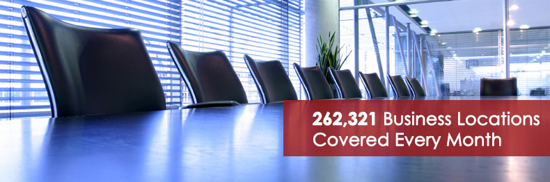 262,321 business locations served every month